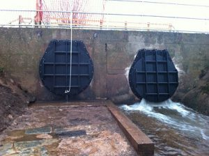 Flap Valve Stops High Water Levels